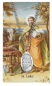 Saint Luke Medal and Prayer Card Set