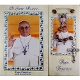 Pope Francis Wood Rosary with Booklet (Spanish Text)