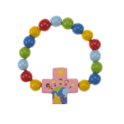 Children of the World Wood Stretch Bracelet